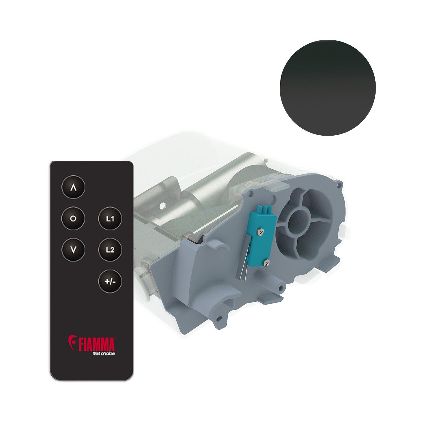 Fiamma Motor Kit Plus F80S 12V deep black