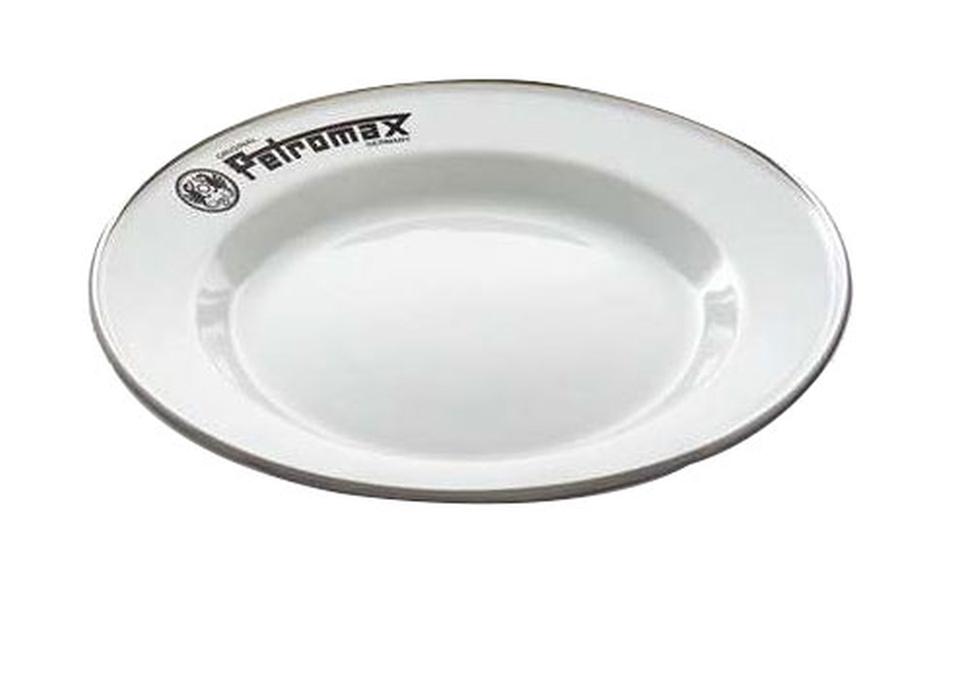 Petromax Emaille Teller 22 cm weiß 2 Stück