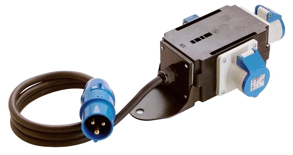 CEE-Verteiler mit Kabel