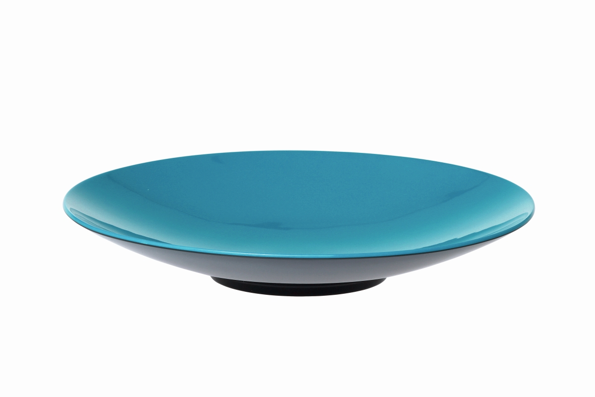 Gimex Pastateller grau-blue 23 cm