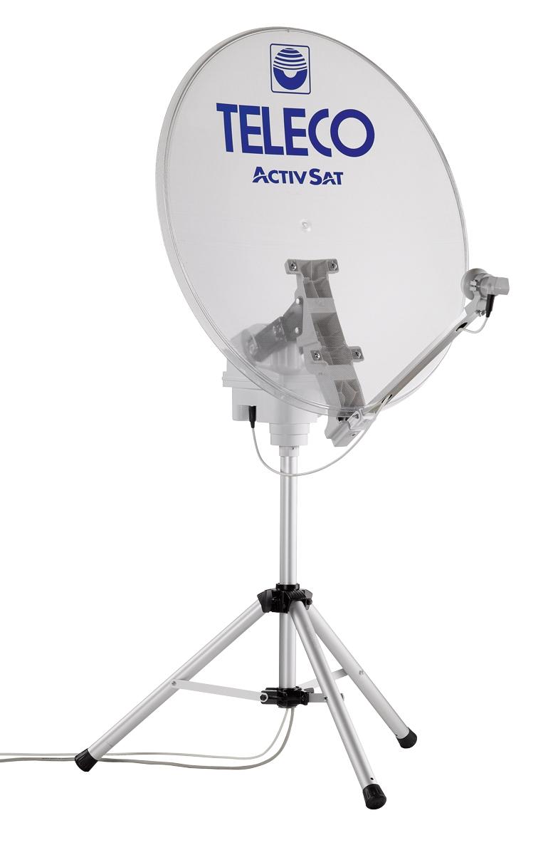 TELECO Antenne ActivSat 85T Twin