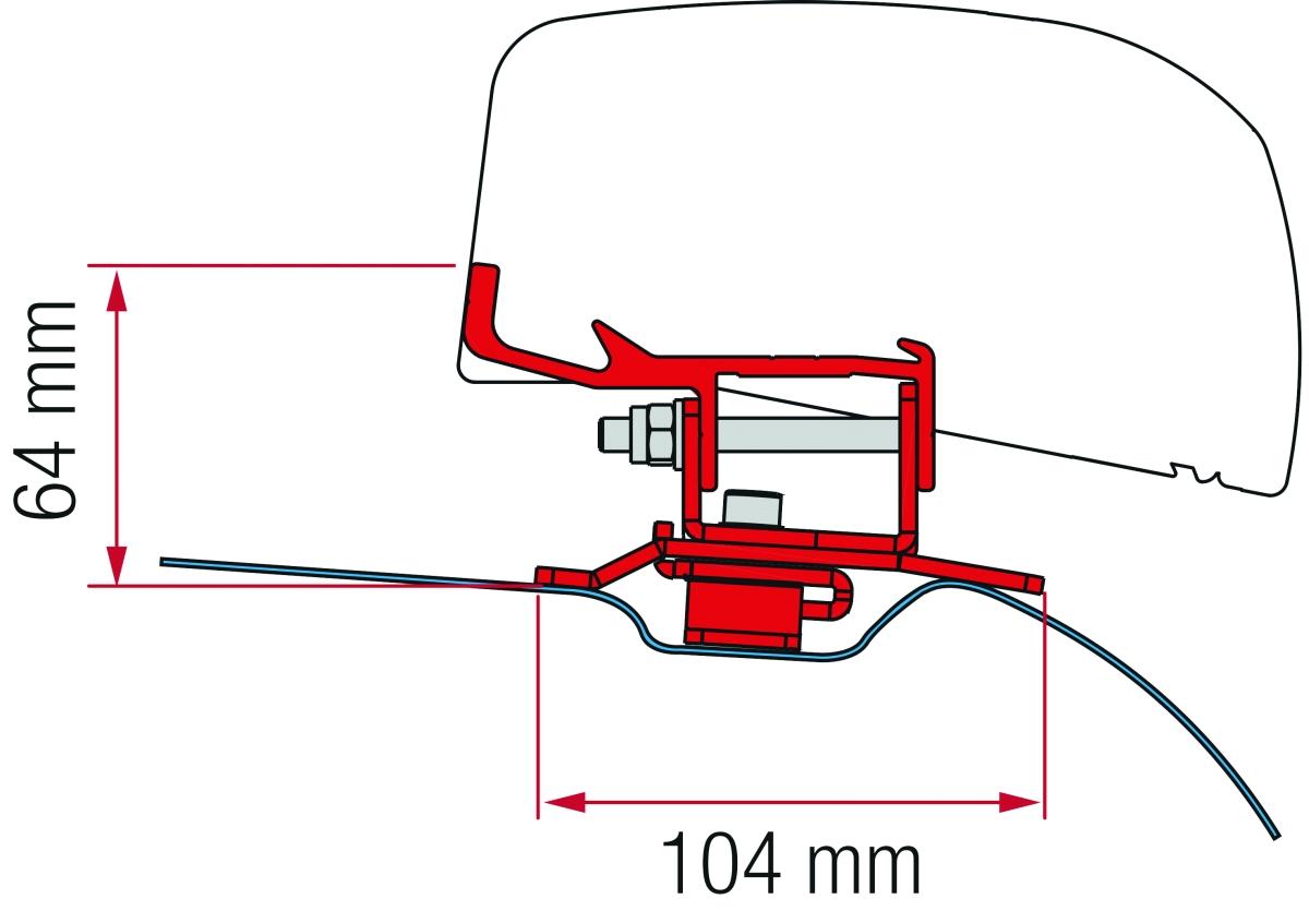 Fiamma Adapter F40 PSA ab 2014