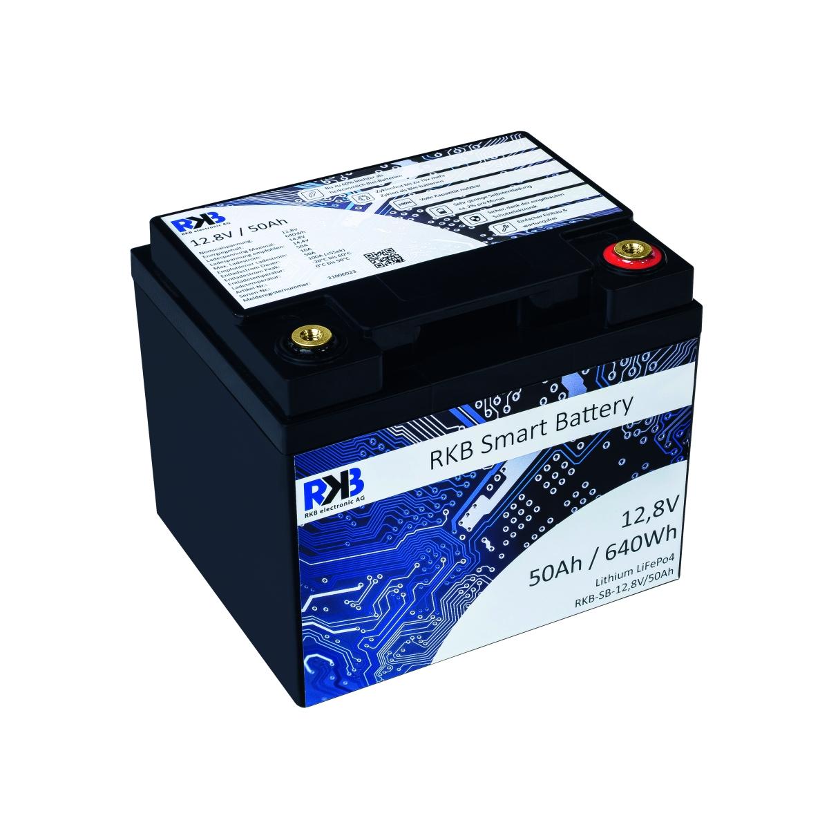 RKB Lithium 12V 50 Ah