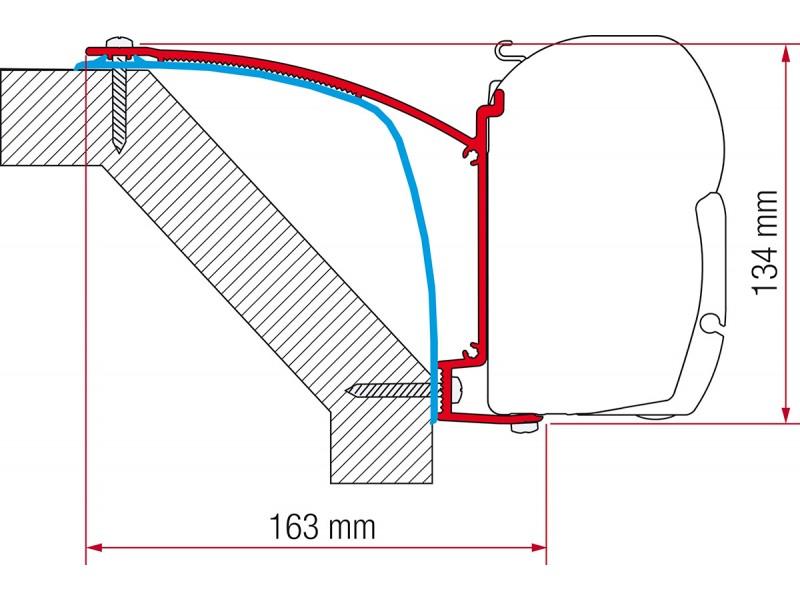 Fiamma Laika Ecovip 07 Adapter Kit