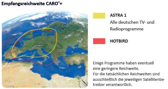 """CARO Premium mit Smart TV 19,5"""""""
