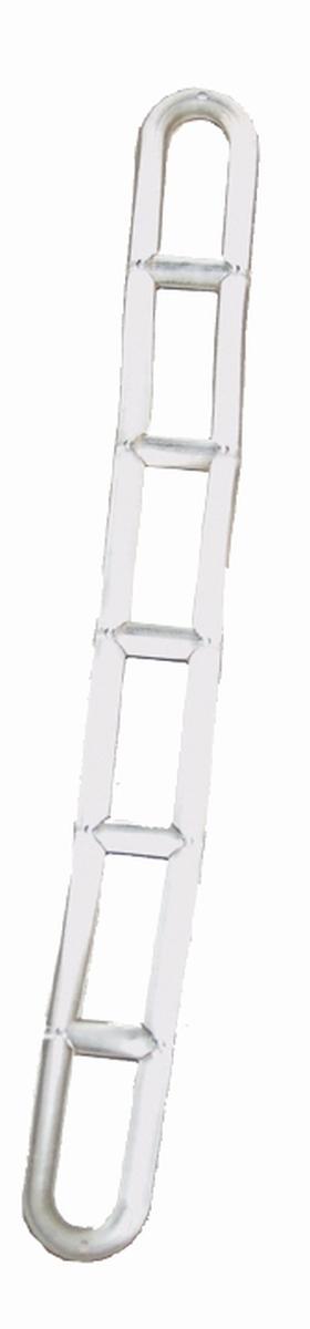 Leiterabspann-Elemente transparent 5er Pack