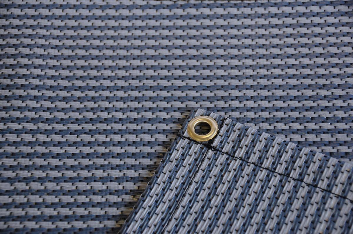 Zeltteppich Premium blau