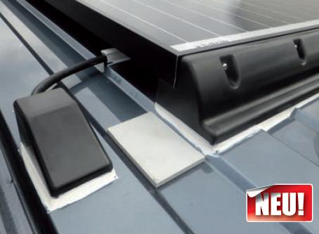 Sickenfüllerset für Dachmontage von Solaranlagen