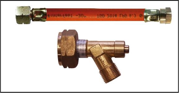 HD-Verbindungsschlauch 75 cm SBS