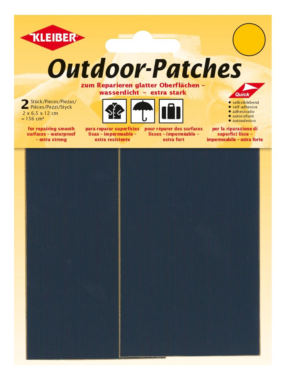 KLEIBER Outdoor-Patches dunkelblau