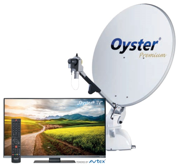 Oyster 85 Premium Twin SKEW mit TV