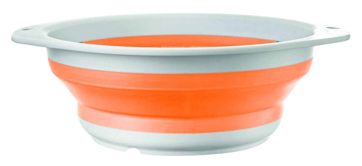 Brunner Faltbarer Sieb FOLD-AWAY COLANDER orange
