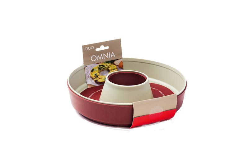 OMNIA Silikon Backform Duo-Pack 2.0