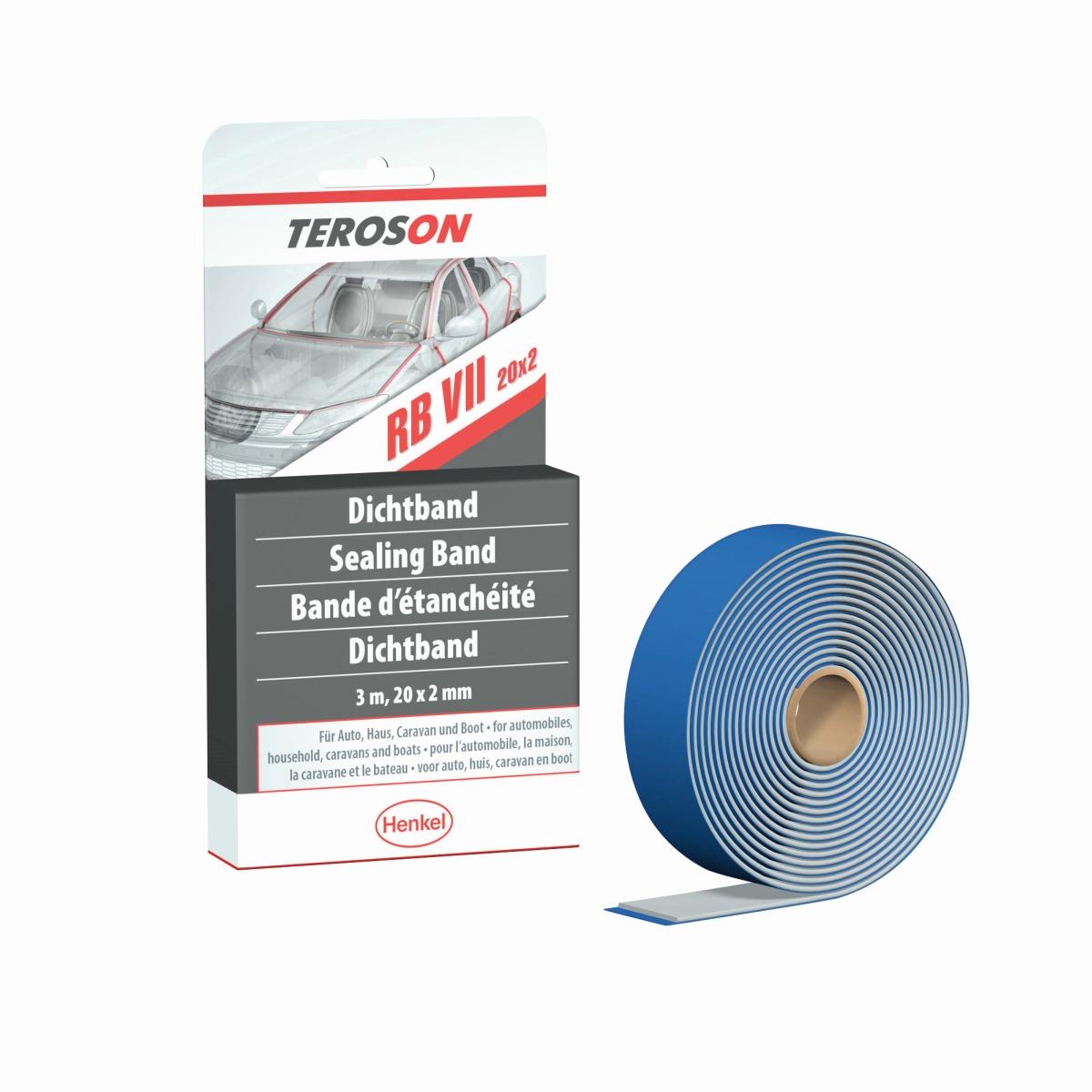 Henkel TEROSON RB VII 20 x 2 mm weiß, 3 m
