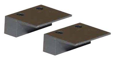 Thitronik Montageadapter 2er Set schwarz