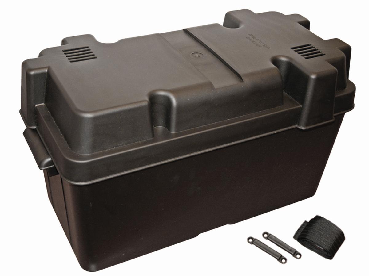 Batteriekasten schwarz
