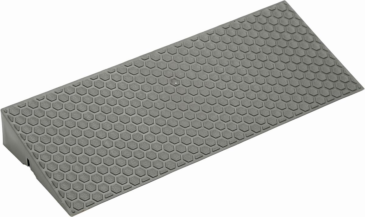 Abschlussrampe DECK-RAMP 38,5x15 cm grau