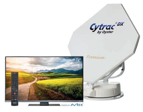Cytrac DX Premium Twin mit TV