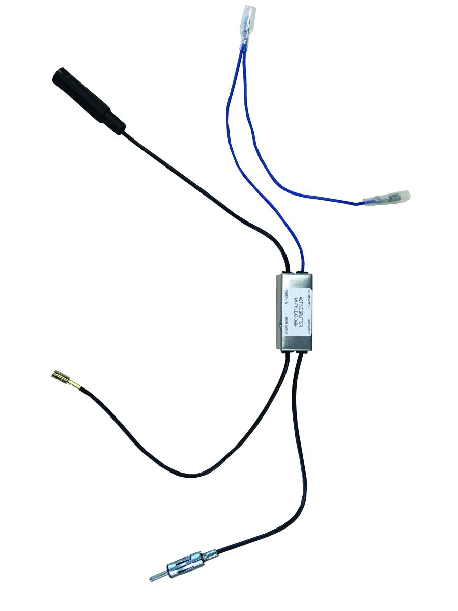 Pioneer UKW-Antennensplitter mit DIN-Anschluss