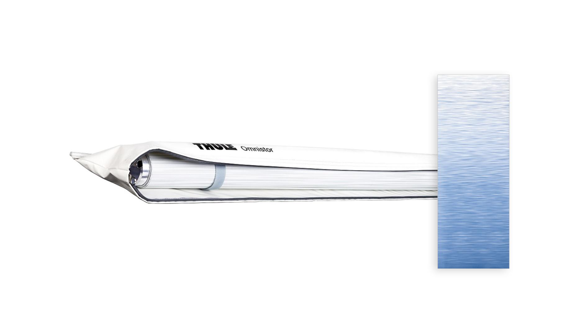 Thule Omnistor 1200 weiß 425x250 cm, Saphir Blau
