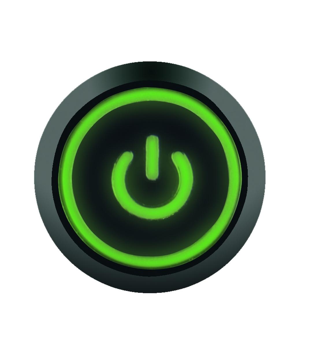 Büttner LED EIN / AUS - Schalter für MTHS500