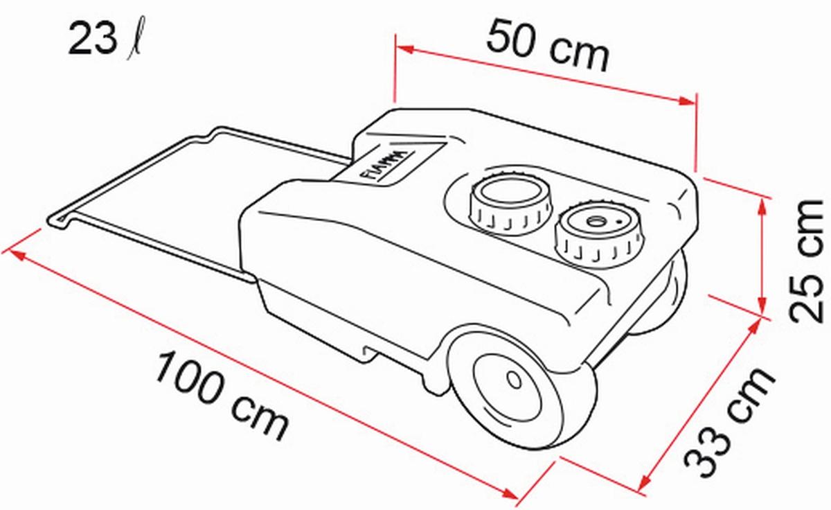Roll-Tank 23 F