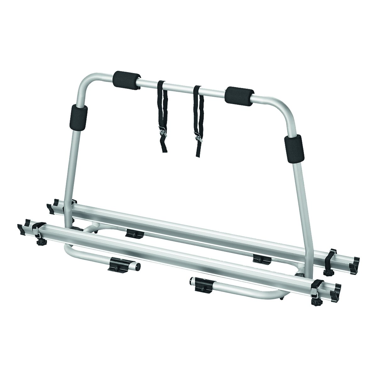 Deichsel-Fahrradträger für 2 Fahrräder, Aluminium
