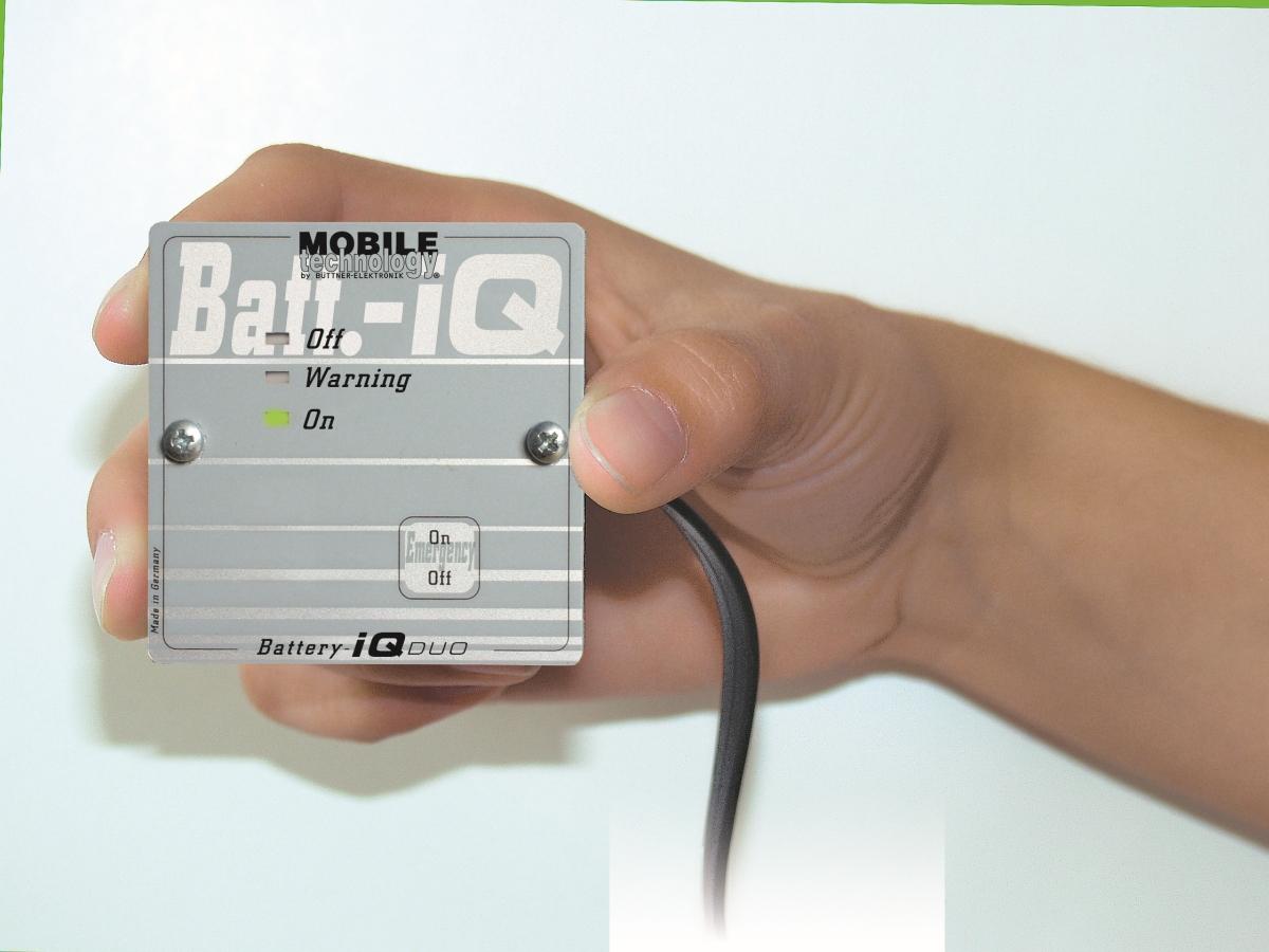 Büttner Fernbedienung für MT-Batterie-iQ