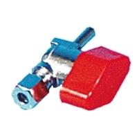 Schnellschluss-K-Ventil mit Rohrzapfen