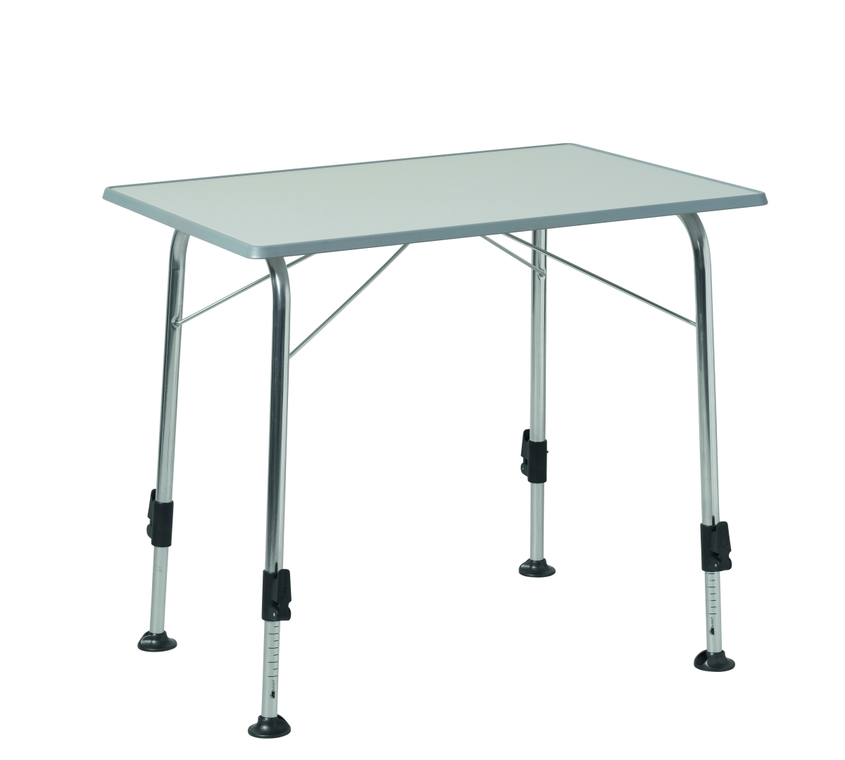 Dukdalf Tisch STABILIC I Luxe, hellgrau