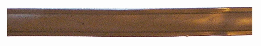Leistenfüller schmal braun 10 m