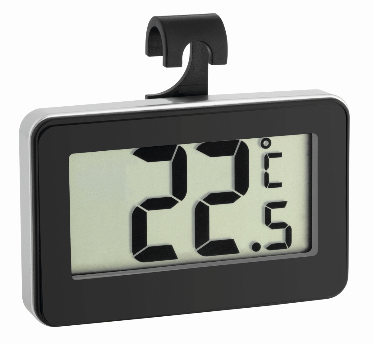 Digitales Thermometer schwarz