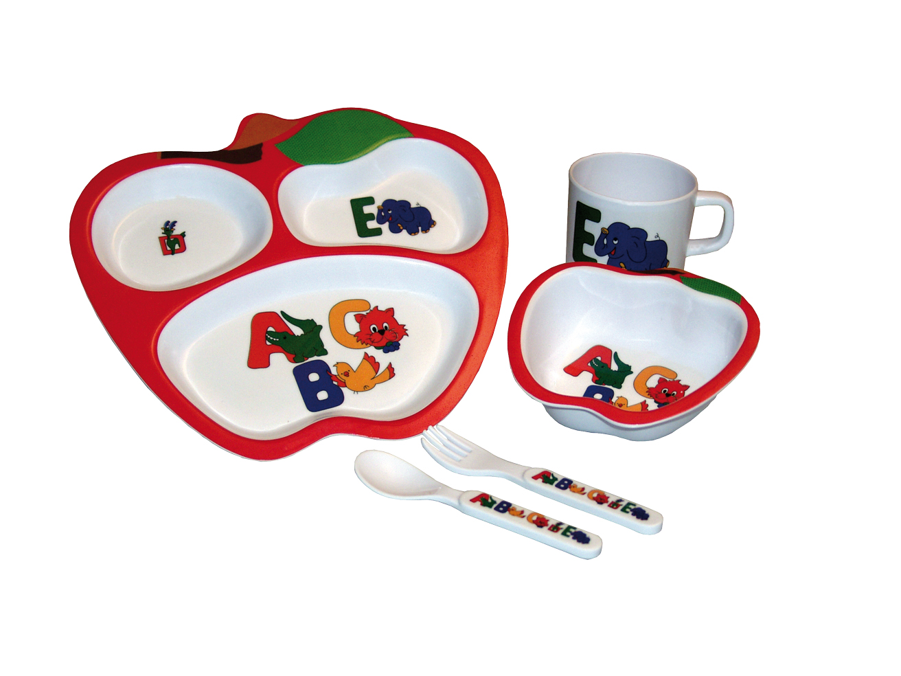 Gimex Kinder-Geschirr-Set 5 tlg.