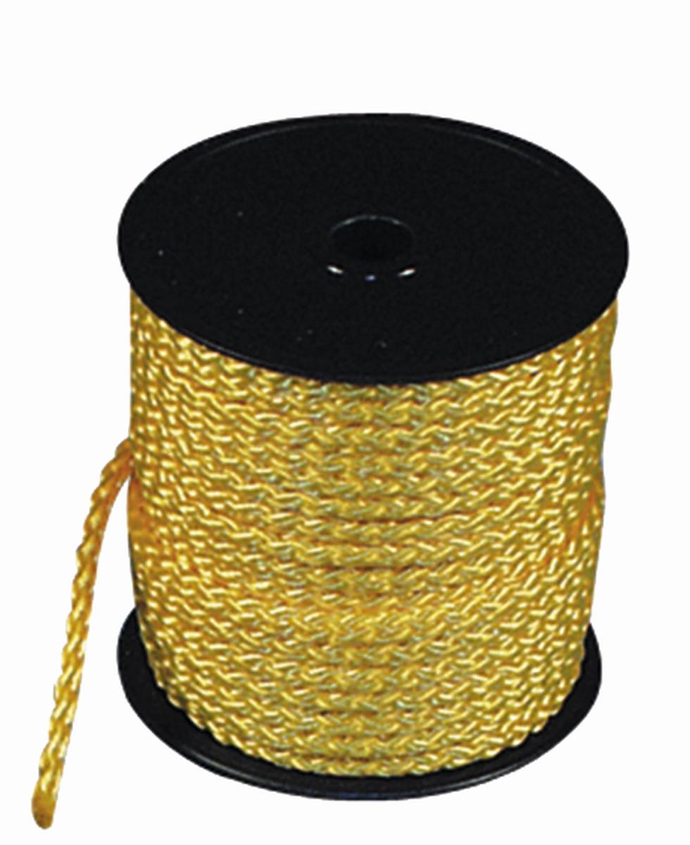 Sicherheits-Zeltleine gelb, 3 mm, 50 m