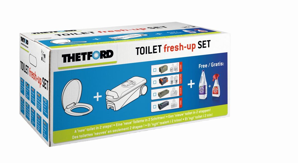 Thetford Toilet FreshUp-Set C200