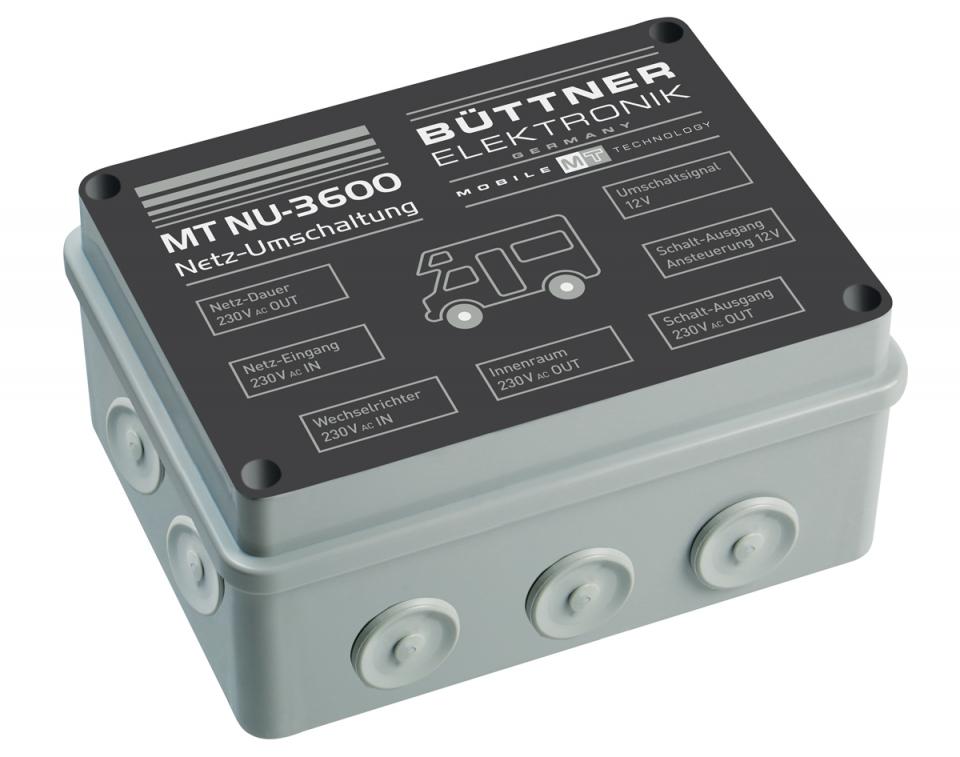 Büttner Netzumschaltung MT NU-3600