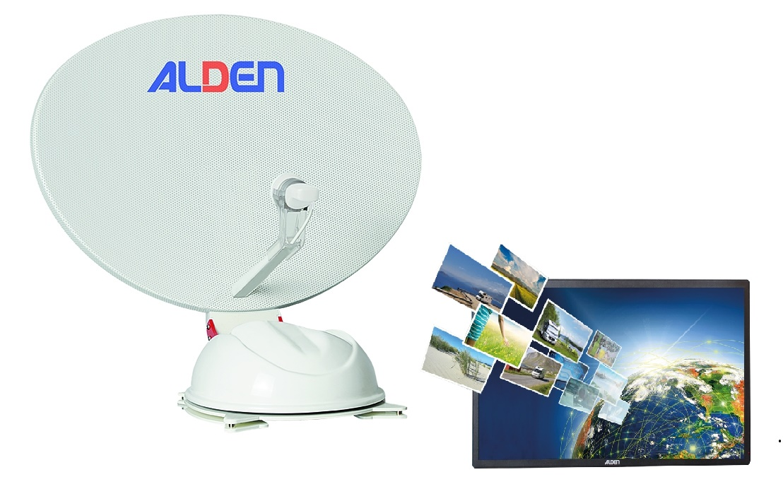 """ALDEN AS2 80 A.I.O. mit 22"""" TV ultrawhite"""