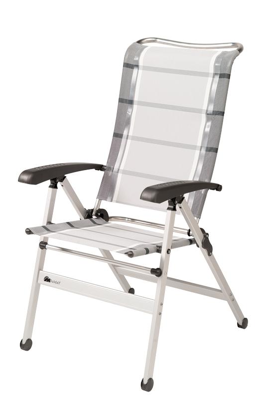 Dukdalf Sessel CHA CHA grau/weiß 0649