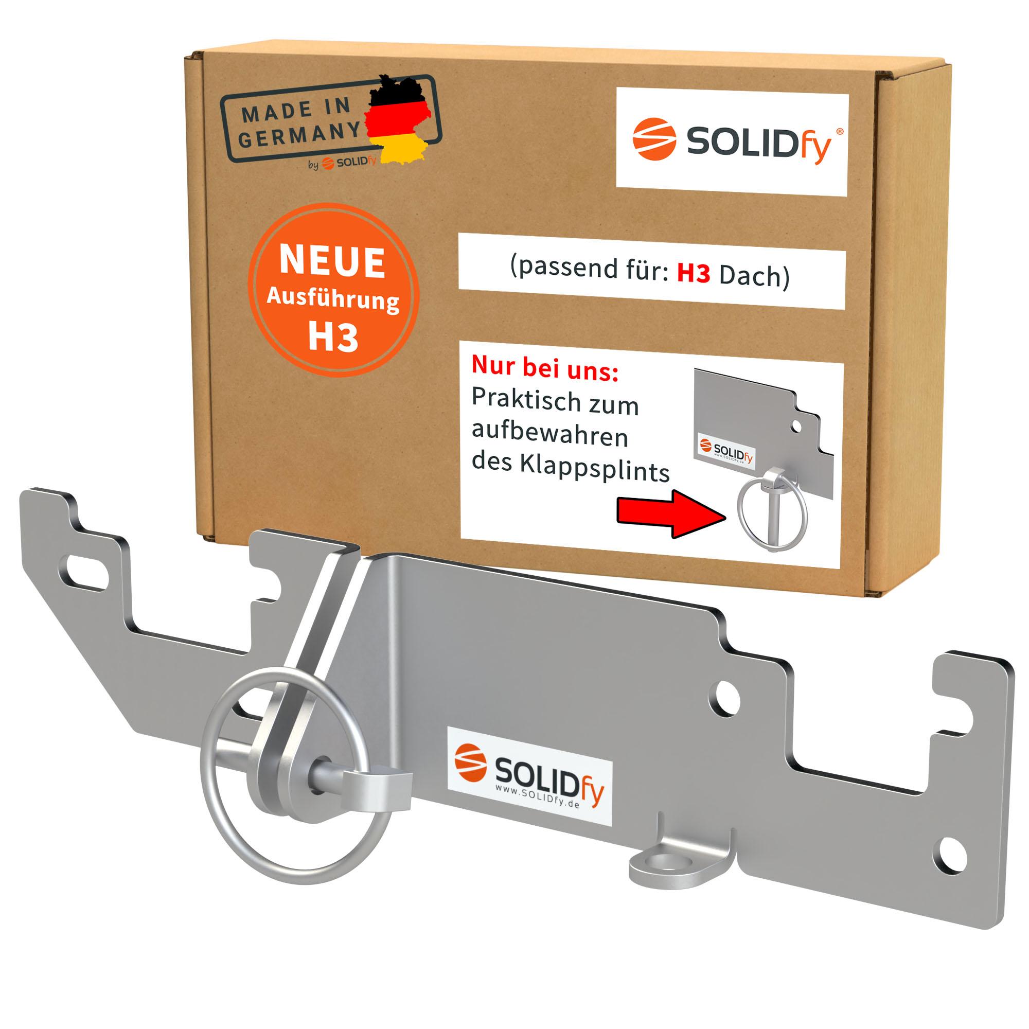 SOLIDfy Einbruchschutz Hecktür Ducato H3 ab 2006