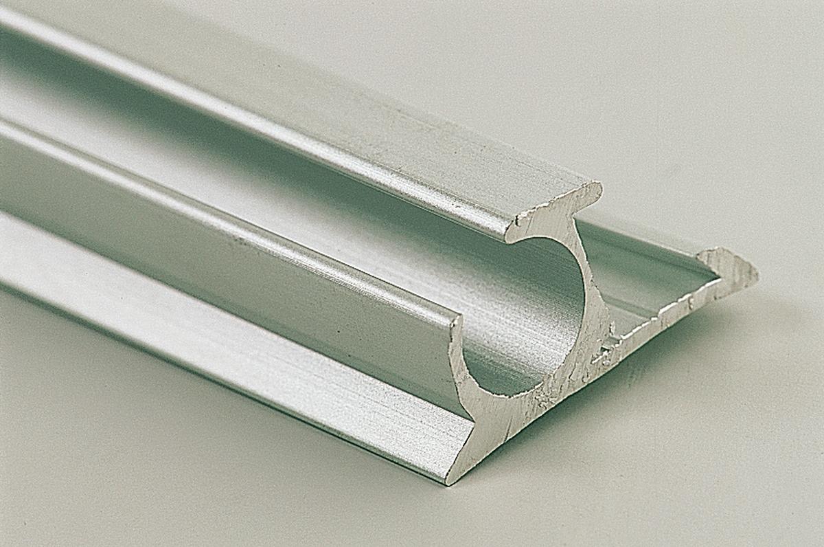 Aluminium-Profil 25 x 13 mm Länge 500 cm