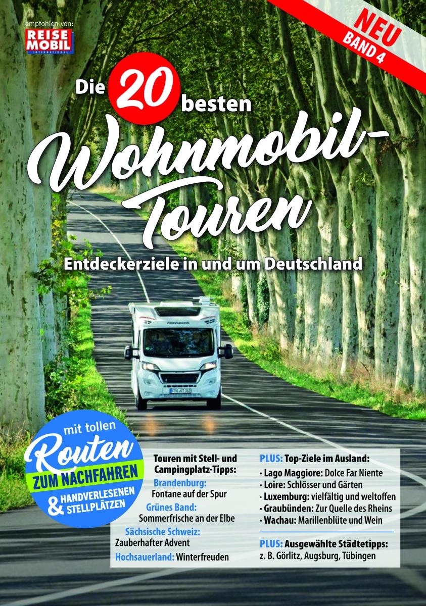 Die 20 besten Wohnmobil-Touren in D Band 4