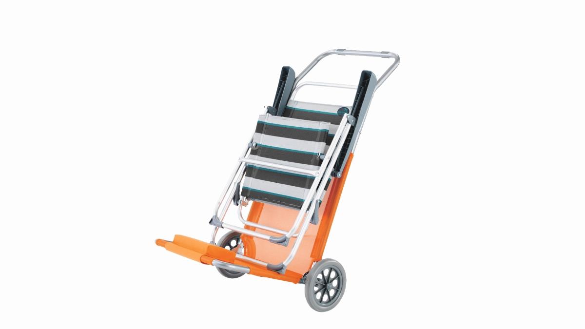 Strandwagen PIER orange