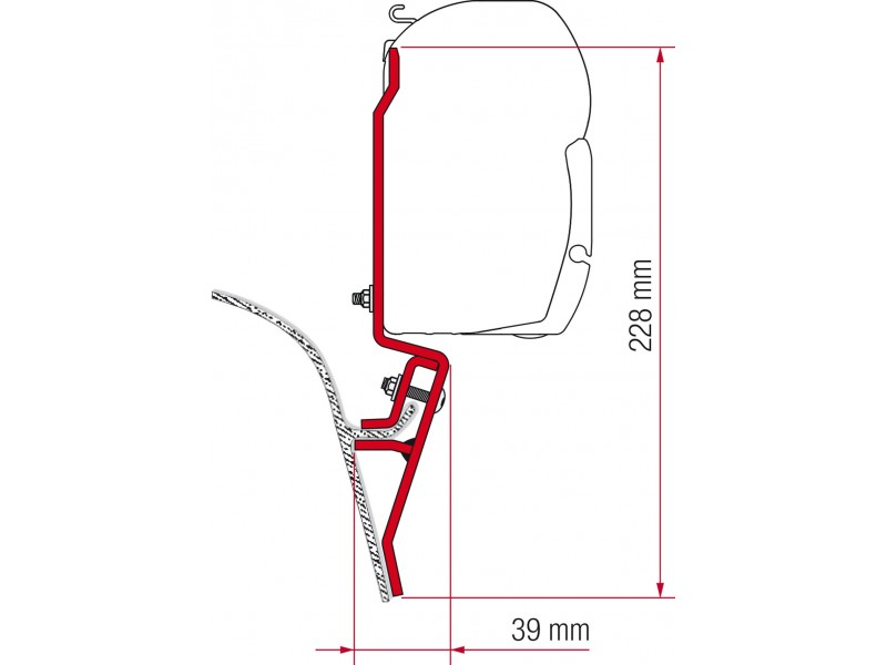 Fiamma VW T3 Adapter Kit