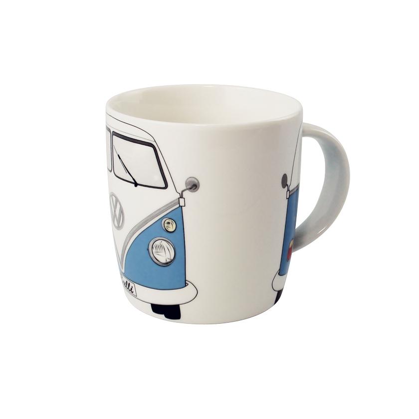 VW Collection Kaffeetasse blau-weiß