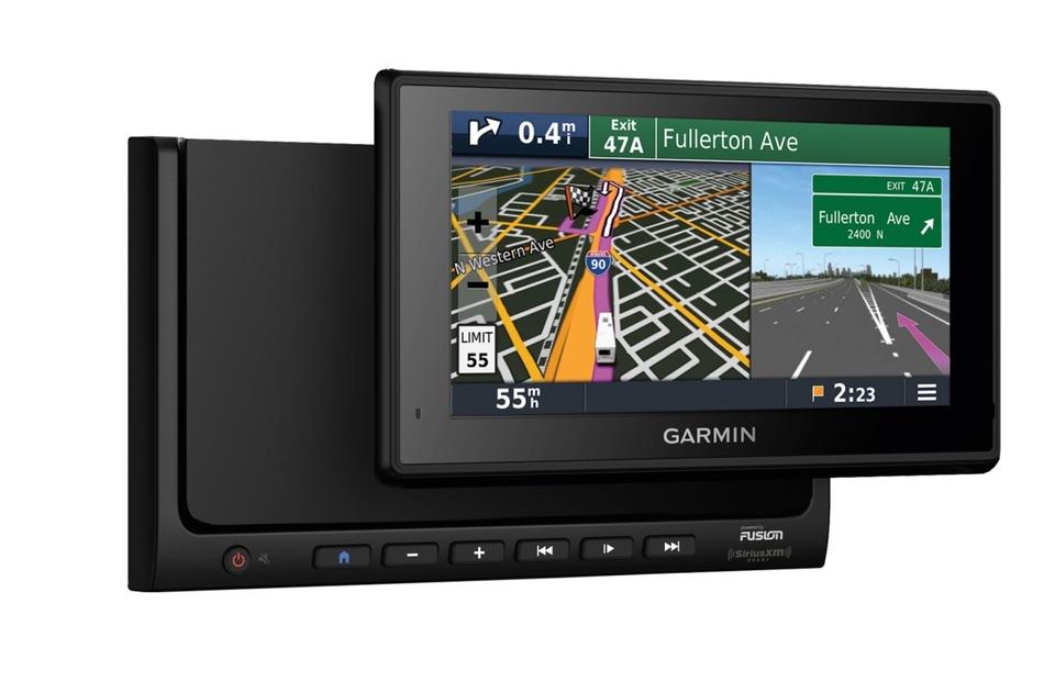 Fusion/Garmin RV-BBT602 Radio und Navigation