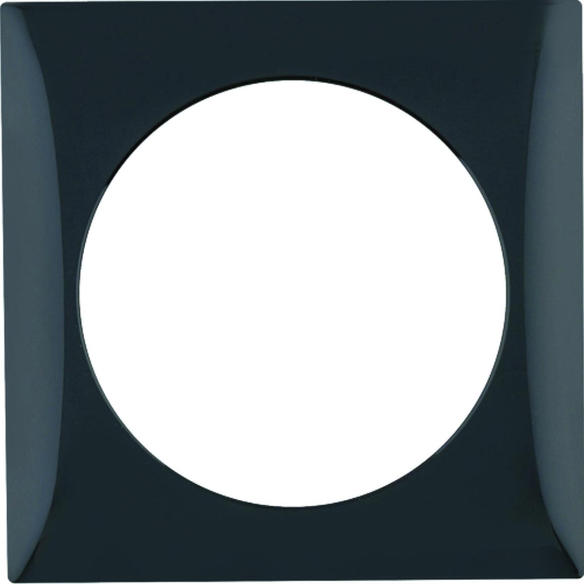 Berker Rahmen 1-fach INTEGRO schwarz