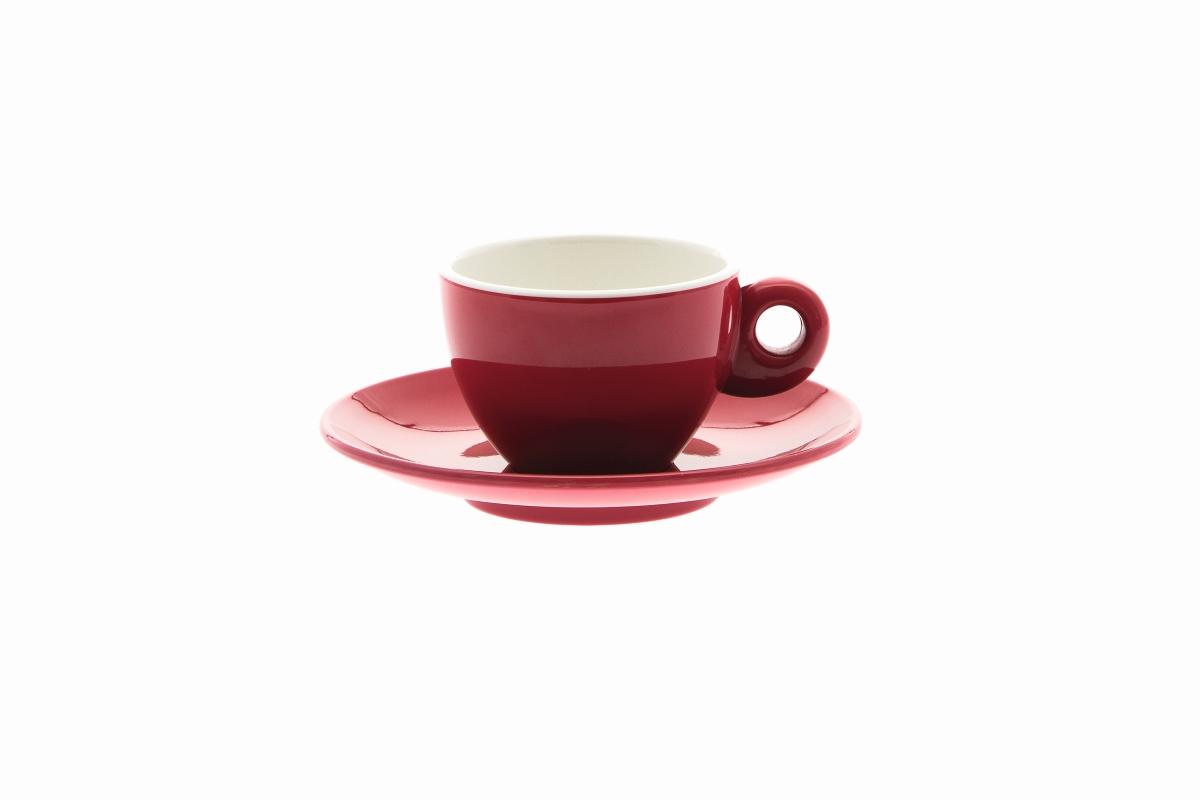 Gimex Espresso-Set rot 4 tlg.