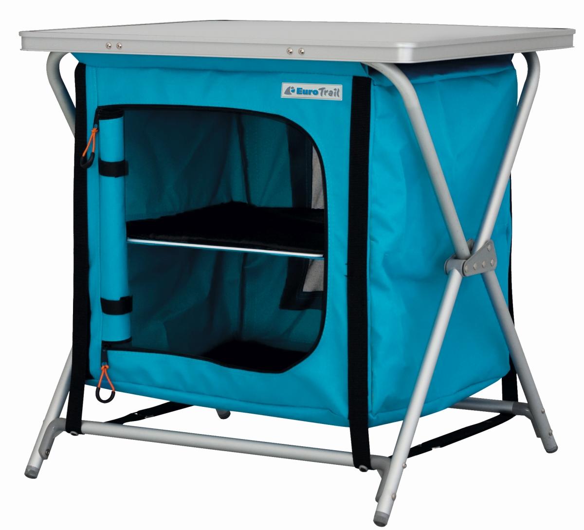 EuroTrail Küchenbox RIEUX blau