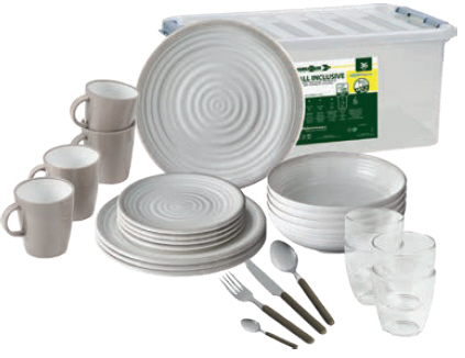 Brunner All inclusive Set SAVANA 36 tlg.