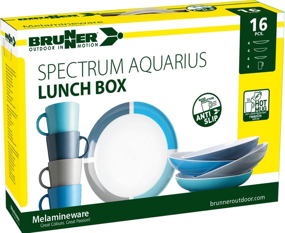 Brunner Lunch Box AQUARIUS 16 tlg.